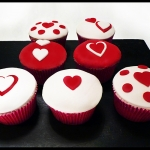 Cupcakes Saint Valentin cupcakes love