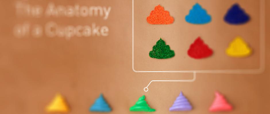 Anatomie du Cupcake