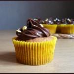 Cupcakes thème équitation banane vanille nutella