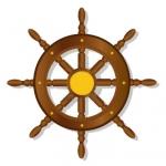 13563503-gouvernail-pour-bateaux-isole-sur-un-fond-blanc-illustration-vectorielle