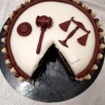 Gâteau thème Avocat 1