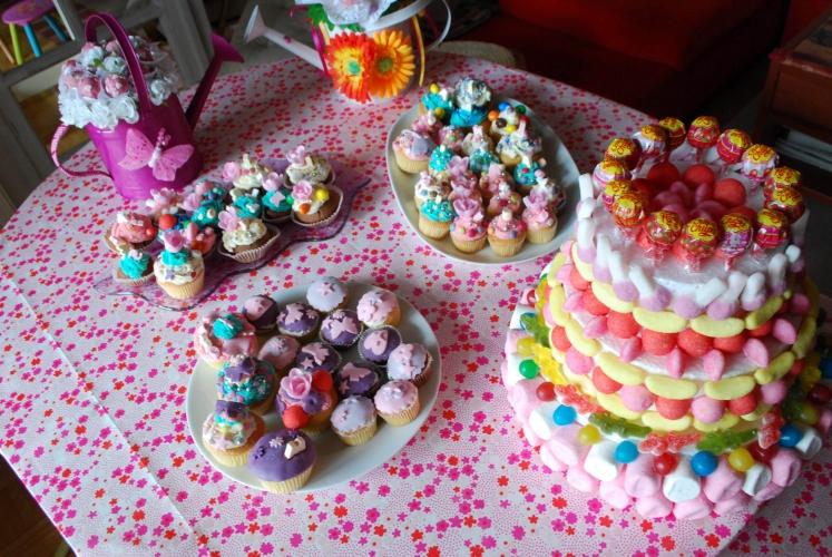 Extrêmement Atelier Anniversaire cupcakes à décorer pour les 8 ans de Kayliah RC08