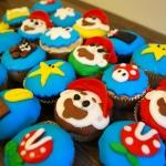 Cupcakes Mario total