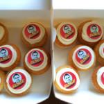 Bazinga Cupcakes