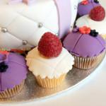 Gâteau fleur et noeud (5)