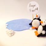 Gâteau pingouin (5)