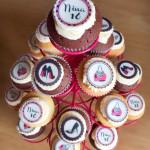 Sweet sixteen cupcakes (2)