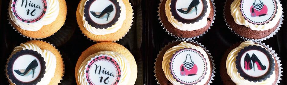 Sweet Sixteen Cupcakes