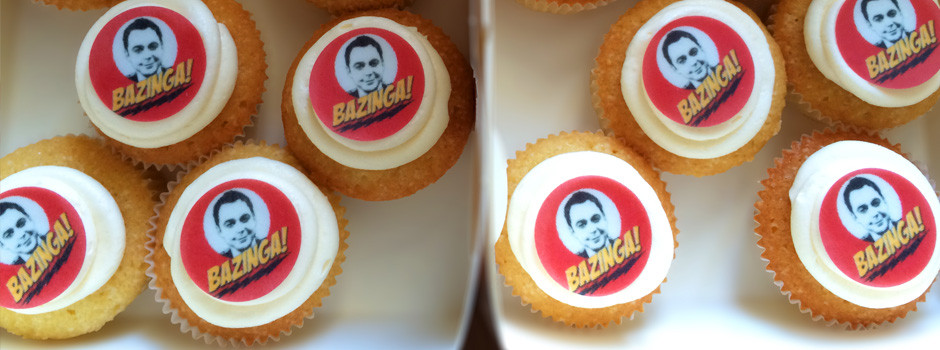 Big Bang Theory Cupcakes