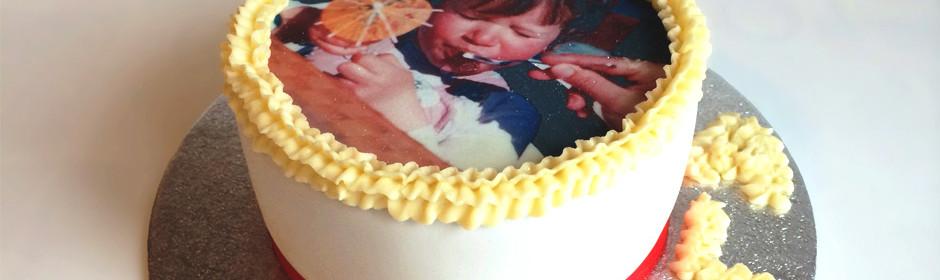 EVJF et gâteau photo personnalisé