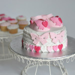 Baby shower cake chaussons fille (19)b