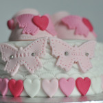 Baby shower cake chaussons fille (6)b