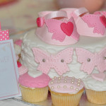 Baby shower cake chaussons fille (9)b