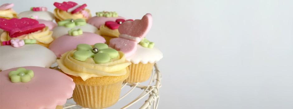 Baptème Cupcakes papillon