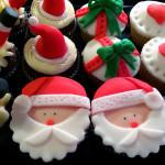 Cupcakes père noël1
