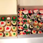 Cupcakes père noël5