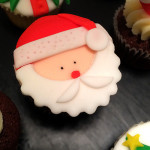 Cupcakes père noël8