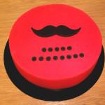 Gâteau moustache (5)