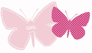 papillon girl + dot